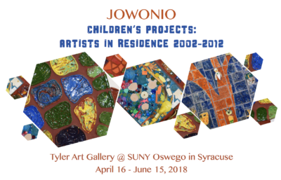 Jowonio Children's Projects Artists in Residence: 2002 - 2012